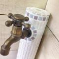 ★手作り★モザイクタイル★水栓柱★ラベンダー★c16