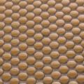 美濃焼タイル モザイクタイル 10mm丸 イエロー 黄色