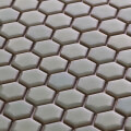 美濃焼タイル モザイクタイル 19mm六角形 ミストグリーン 緑 グリーン