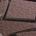美濃焼タイル 乱型タイル グレーブラウン 灰色 茶色