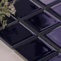 美濃焼タイル モザイクタイル 45mm角 ブルー 青