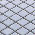 美濃焼タイル モザイクタイル 25mm角 ライトアクアブルー (PT25-E1)