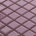 美濃焼タイル モザイクタイル 25mm角 パープル (PT25-G2)