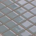 美濃焼タイル モザイクタイル 25mm角 ライトブルーグリーン (PT25-K2)