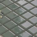 美濃焼タイル モザイクタイル 25mm角 フォレストグリーン (PT25-L2)