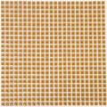 美濃焼タイル モザイクタイル 10mm角 オレンジ