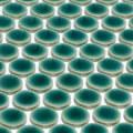 美濃焼タイル モザイクタイル 19mm丸 クロームグリーン (19CIR68)