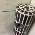 水栓柱 - モザイクタイル 手作り アメ釉ブラウン - c23