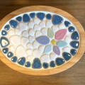 タイルクラフト用 玉石の鍋敷きキット[品番:craft-tamaishi]