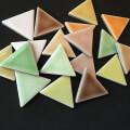 【 クラフト用 】 三角形 カラフルミックス 9色各2枚入り(craft-sankaku-b)