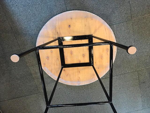 タイルテーブルの組み立て方