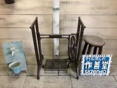 アンティークミシン台  (155 Ver.  SINGER)
