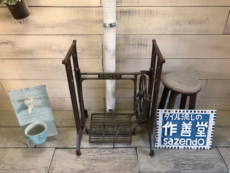 アンティークミシン台  (160 Ver.  SINGER)