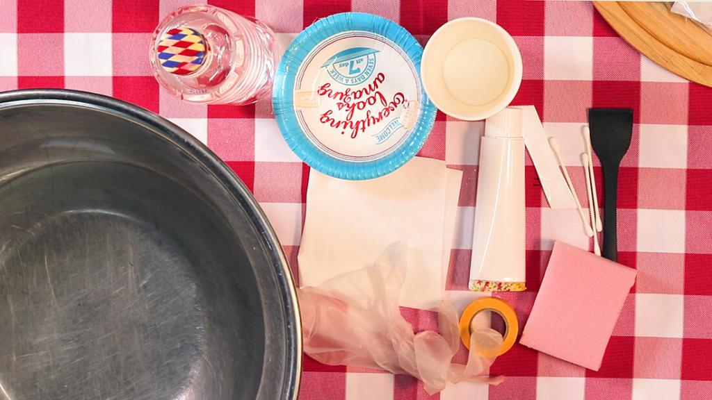 モザイクタイル鍋敷きの作り方