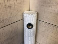 タイル水栓柱 花子ホワイト[商品番号:c27]